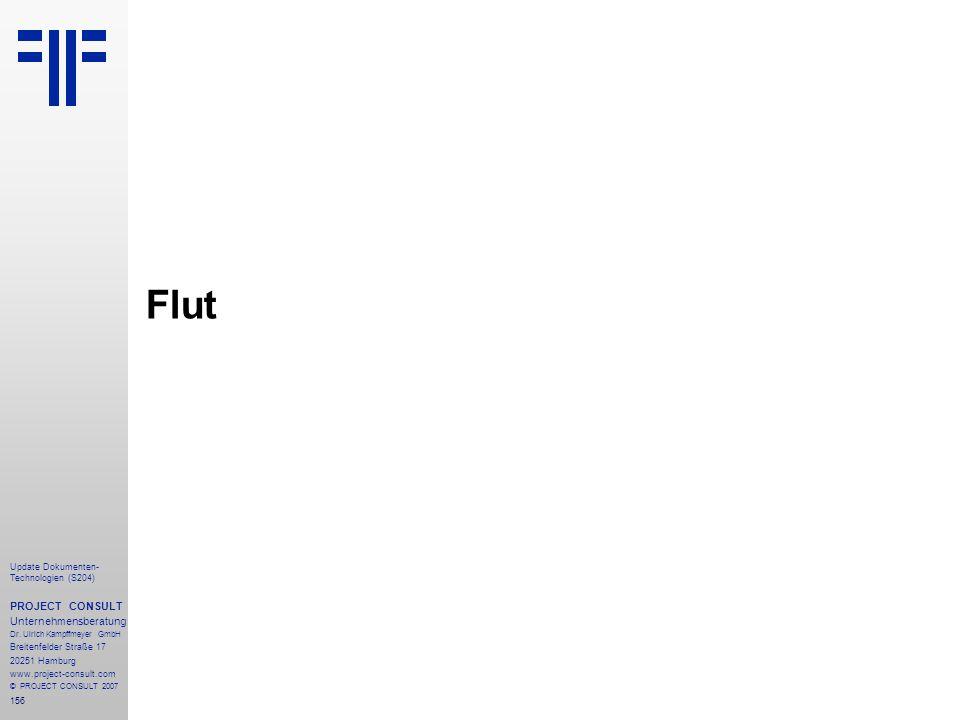 Flut PROJECT CONSULT Unternehmensberatung