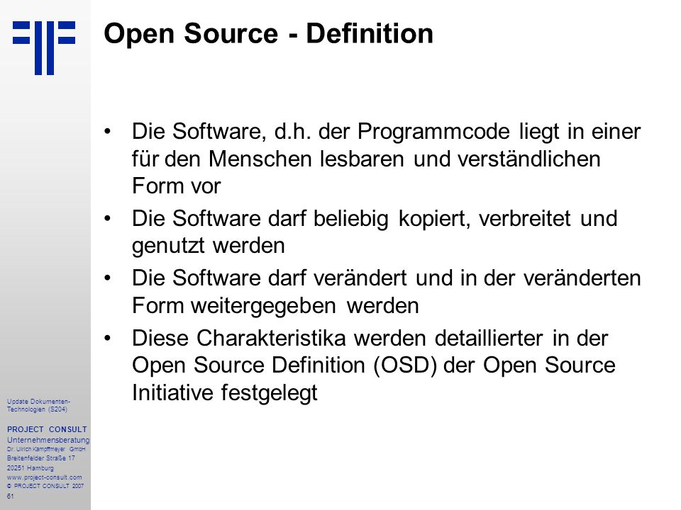 Open Source - Definition