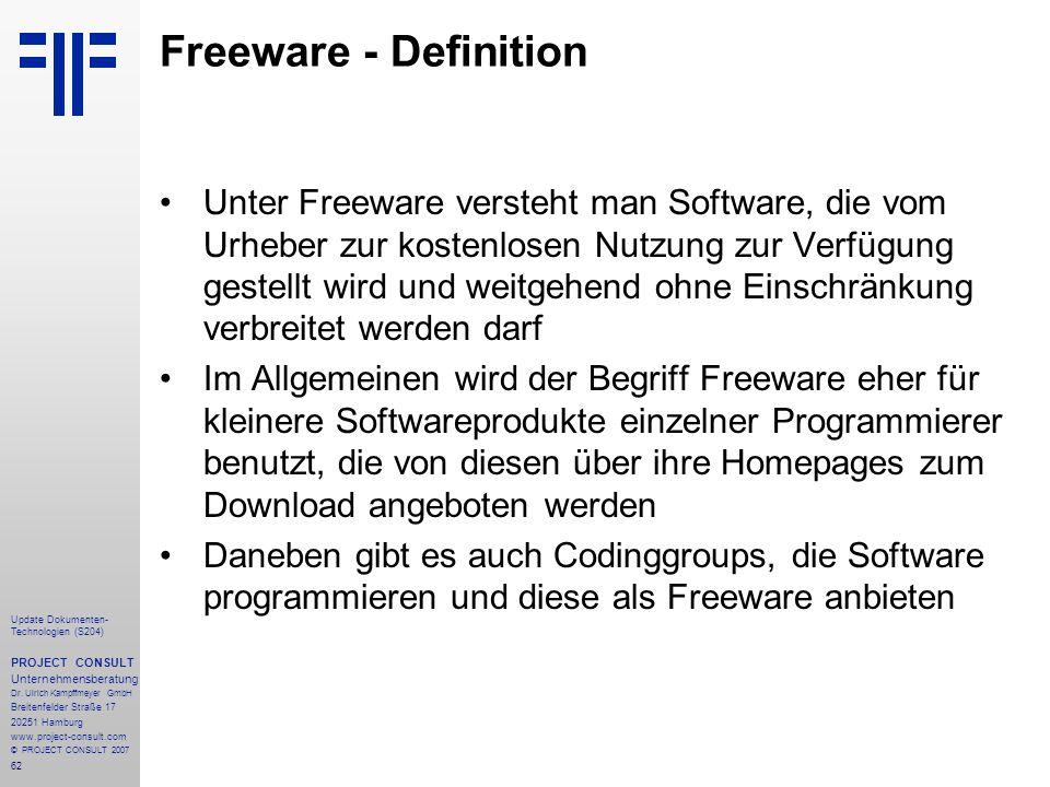 Freeware - Definition