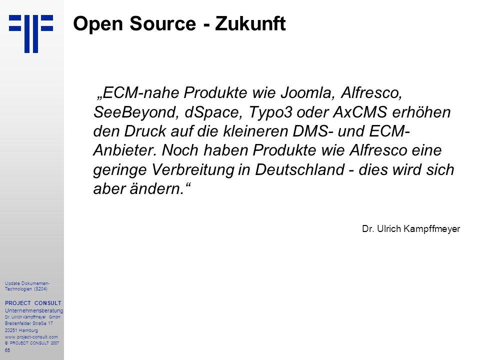 Open Source - Zukunft