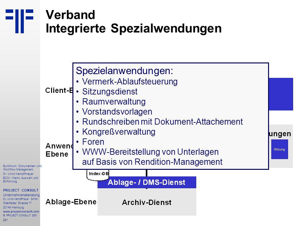 Verband Integrierte Spezialwendungen