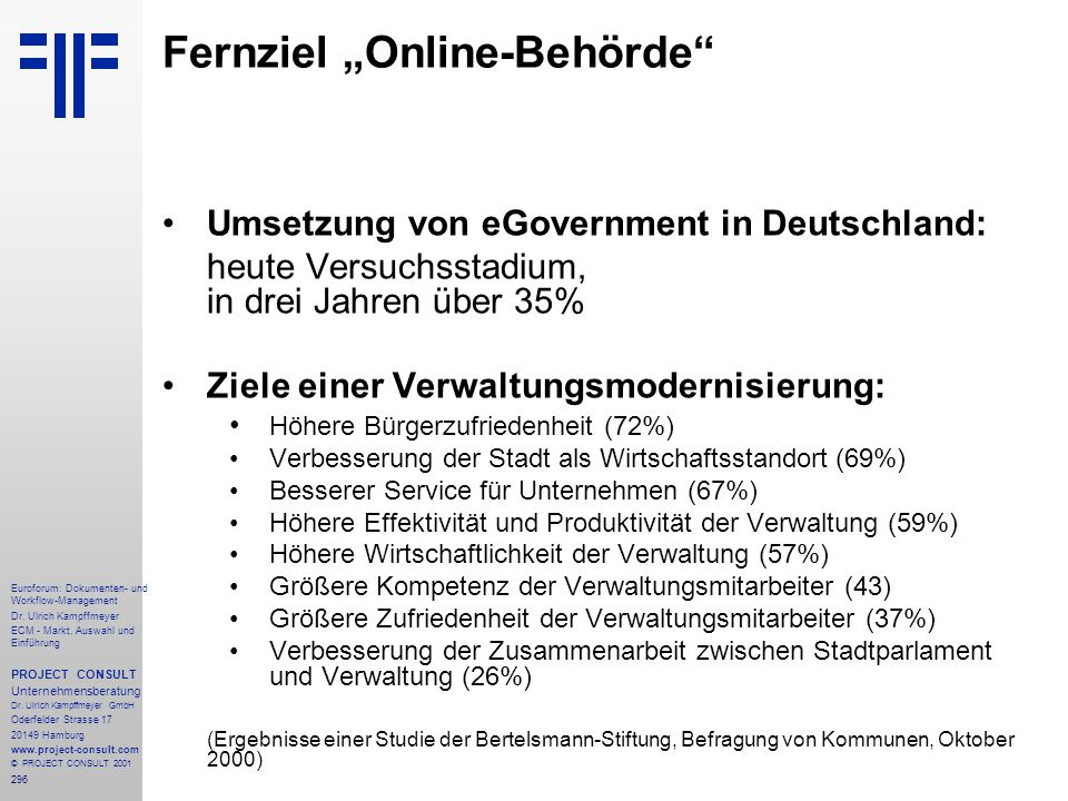 "Fernziel ""Online-Behörde"
