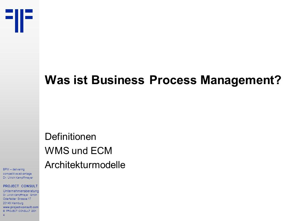 Was ist Business Process Management