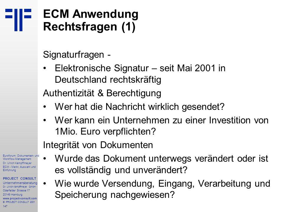ECM Anwendung Rechtsfragen (1)