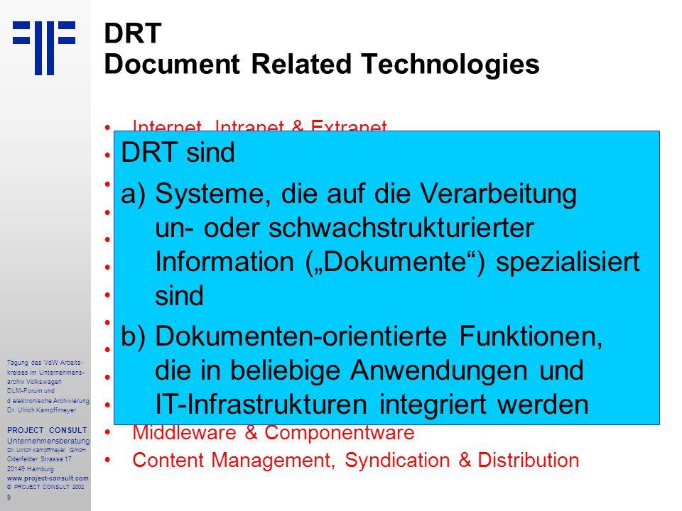 DRT Document Related Technologies