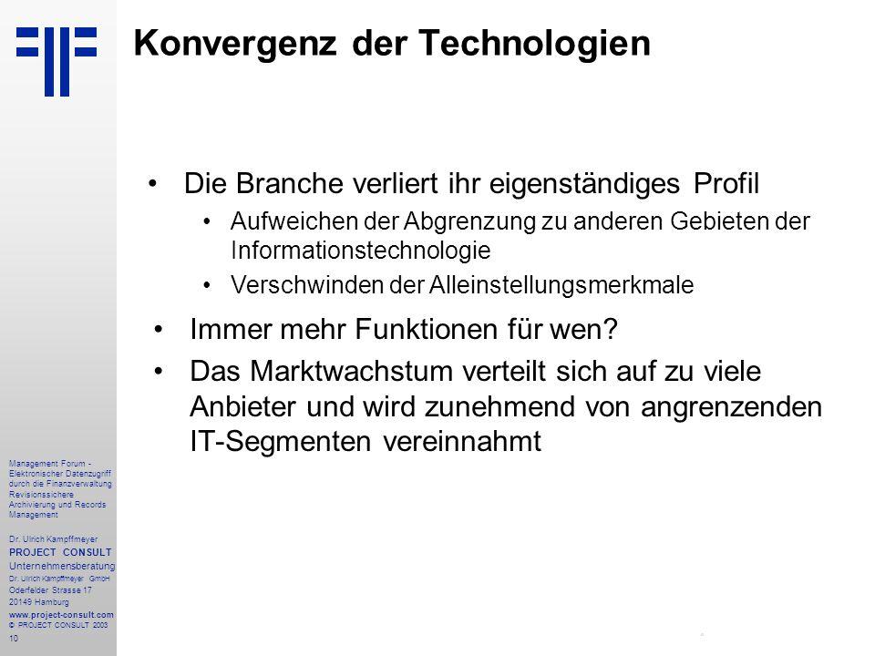 Konvergenz der Technologien
