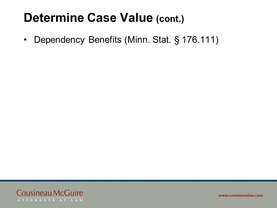 Determine Case Value (cont.)