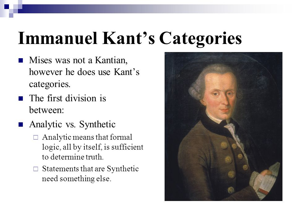Immanuel Kant's Categories