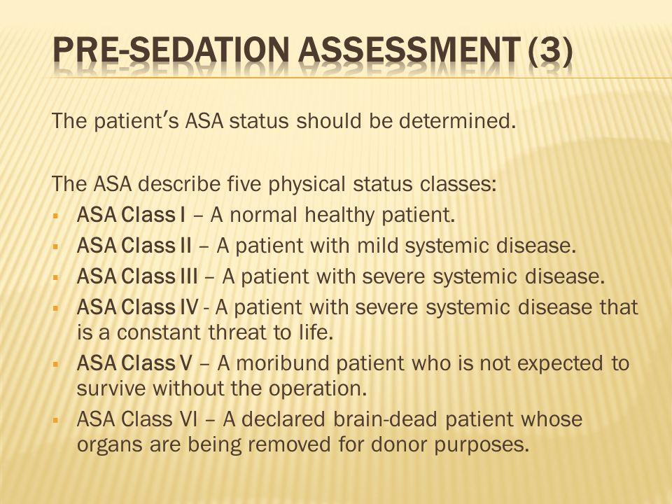 Pre-Sedation Assessment (3)