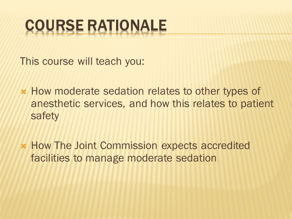 Course Rationale This course will teach you: