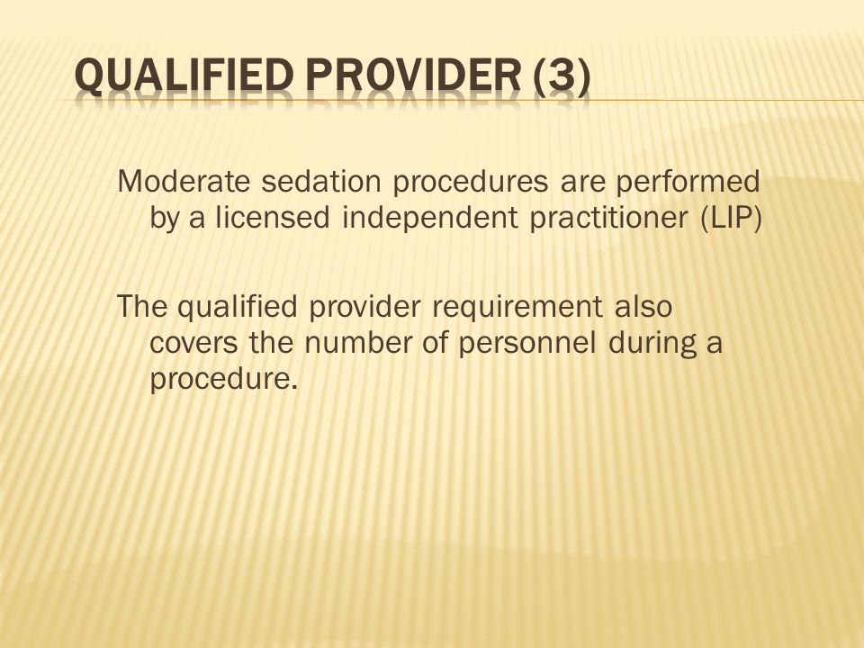 Qualified Provider (3)