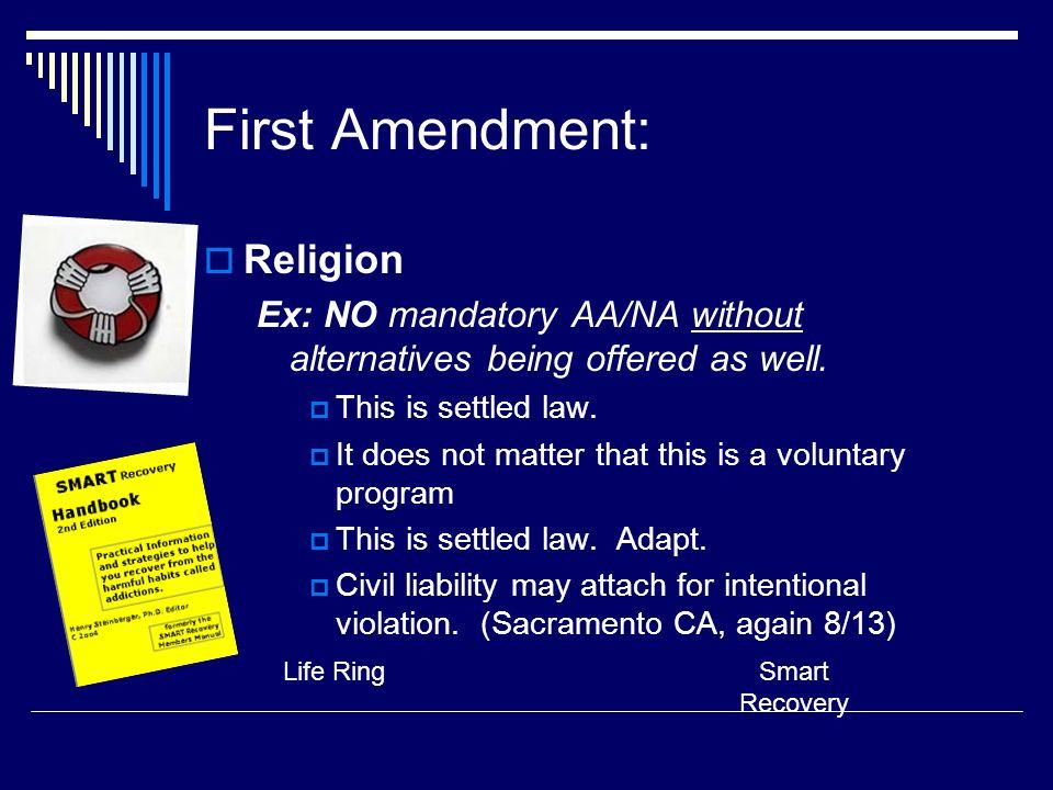 First Amendment: Religion