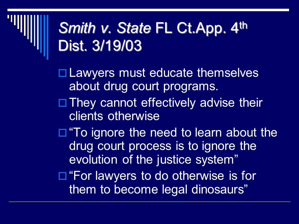 Smith v. State FL Ct.App. 4th Dist. 3/19/03