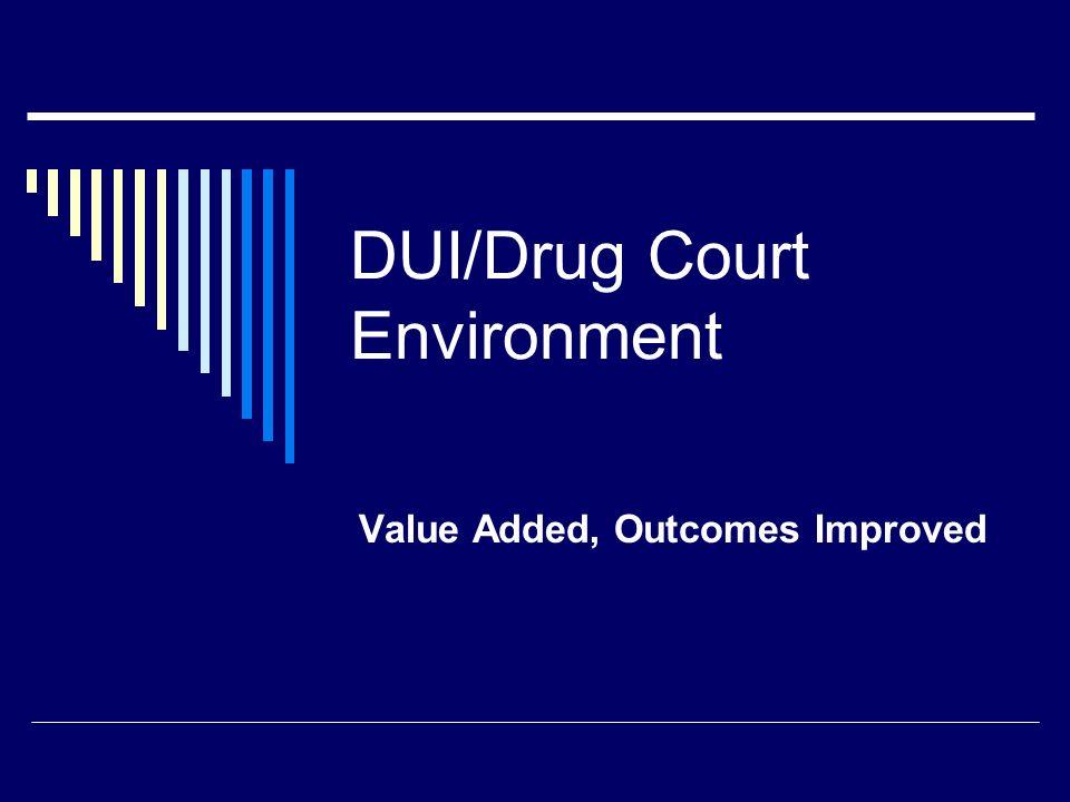 DUI/Drug Court Environment