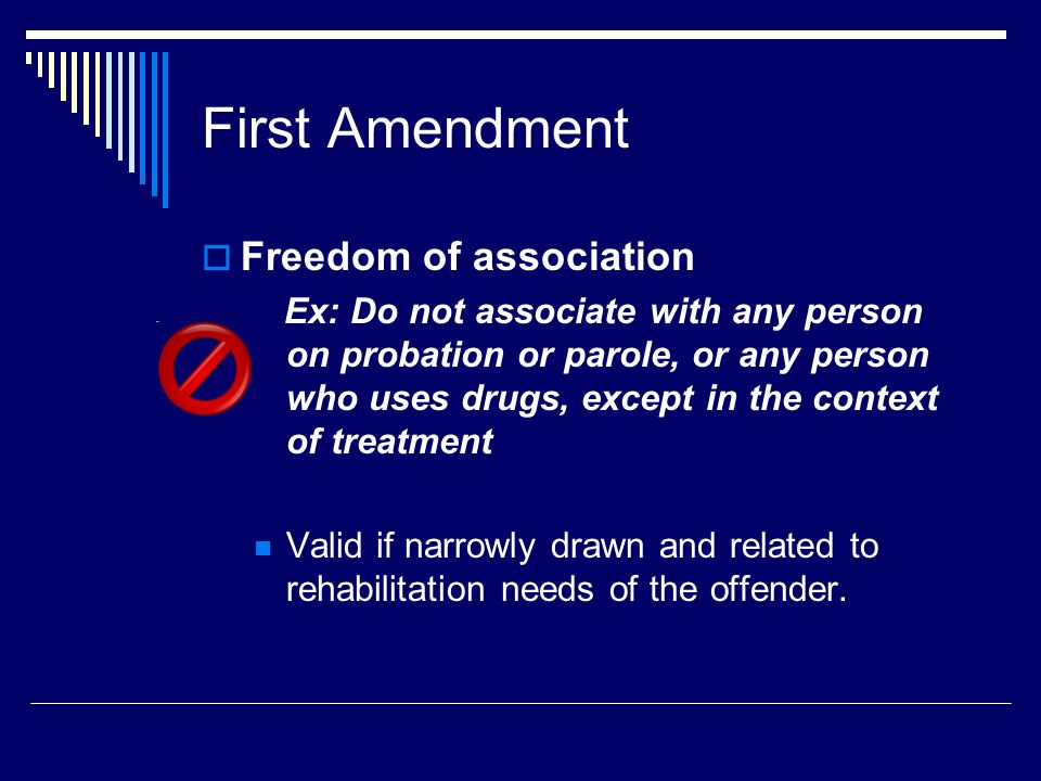 First Amendment Freedom of association