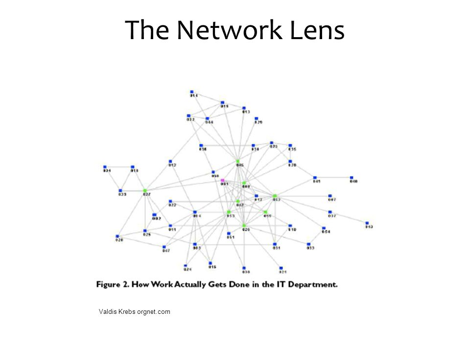 The Network Lens Valdis Krebs orgnet.com