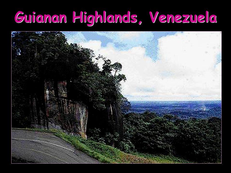 Guianan Highlands, Venezuela