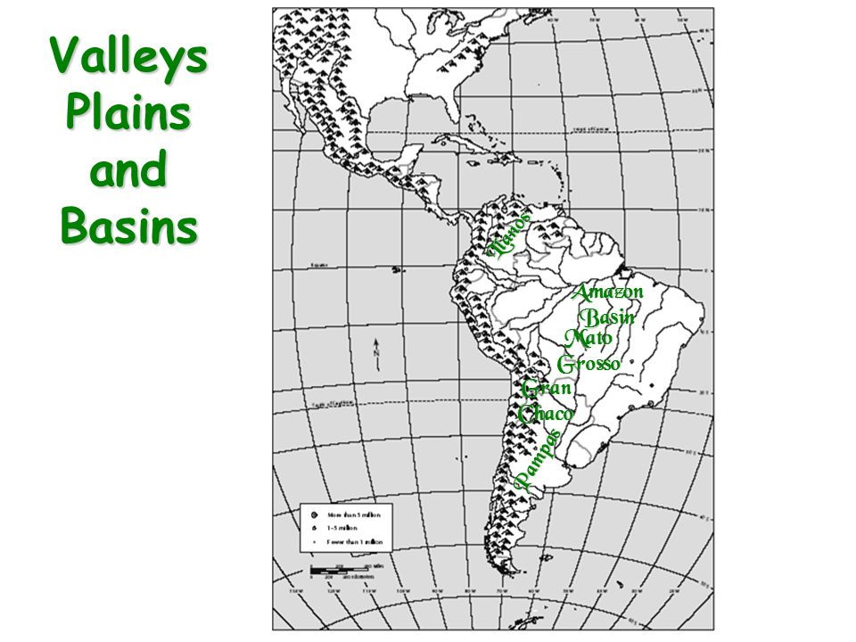 Valleys Plains and Basins