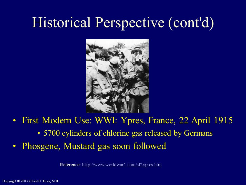 Historical Perspective (cont d)