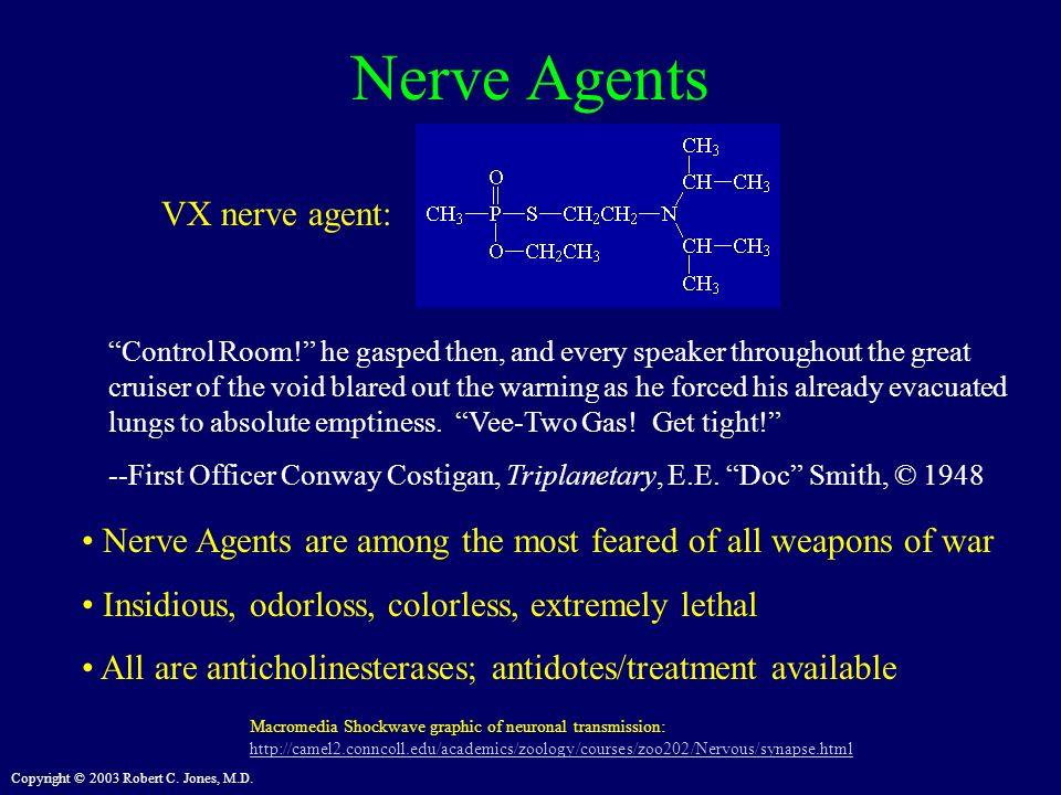 Nerve Agents VX nerve agent:
