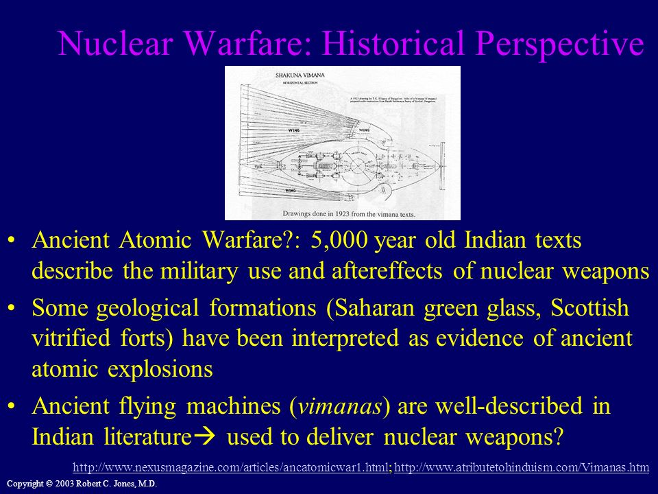 Nuclear Warfare: Historical Perspective