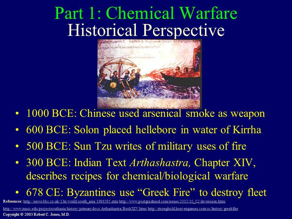 Part 1: Chemical Warfare