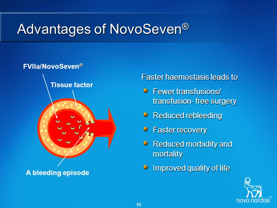 NovoSeven® expansion project