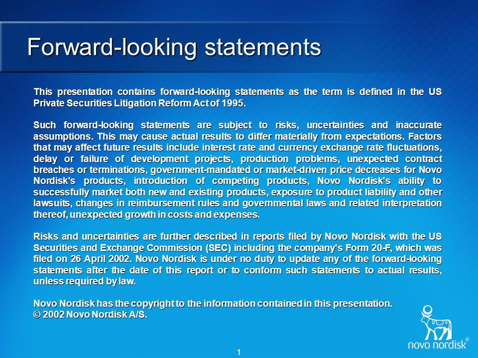 Core competencies of Novo Nordisk