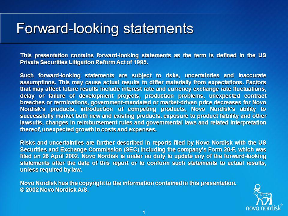 Core competencies of Novo Nordisk