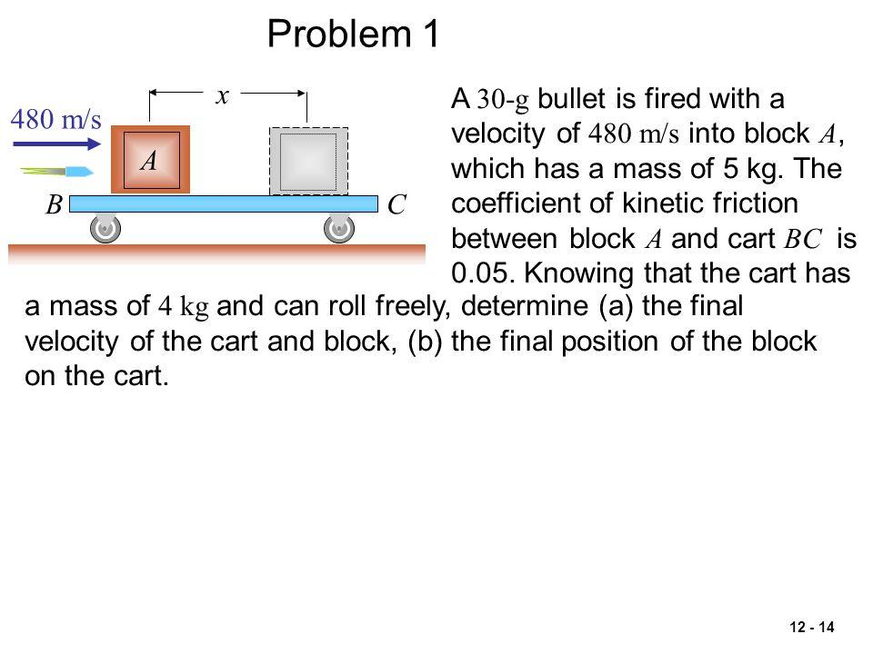 Problem 1 x.