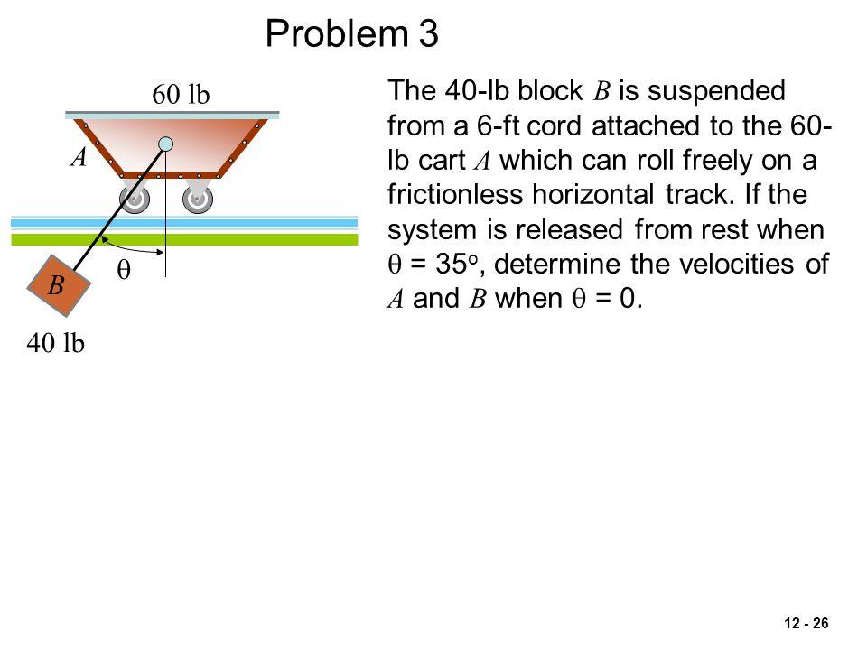 Problem 3 60 lb.