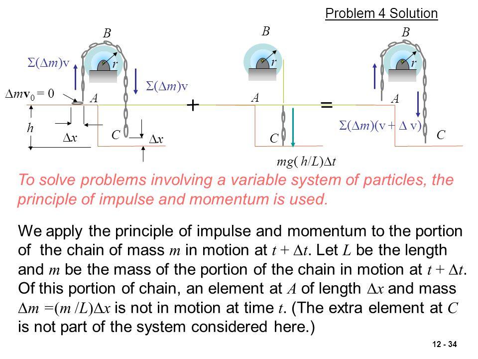 Problem 4 Solution B. B. B. S(Dm)v. r. r. r. S(Dm)v. Dmv0 = 0. A. A. A. h. S(Dm)(v + D v)