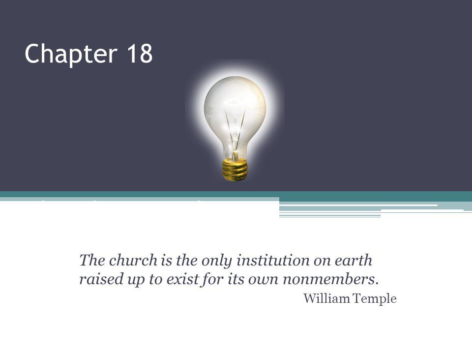 Chapter 18 Church Evangelism