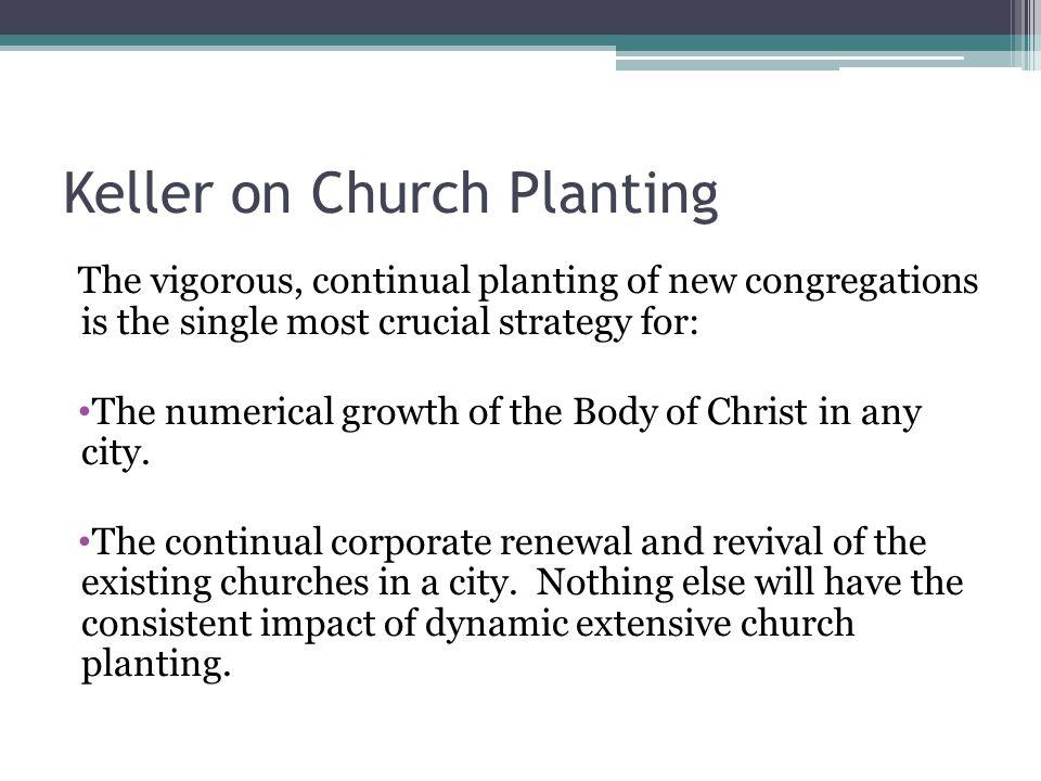 Keller on Church Planting
