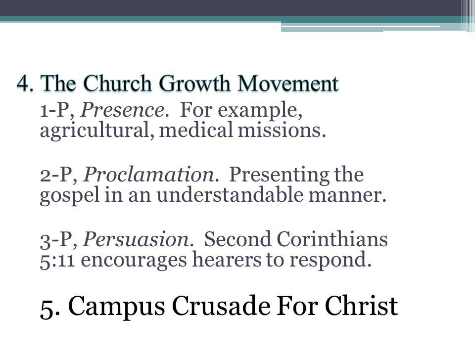 4. The Church Growth Movement