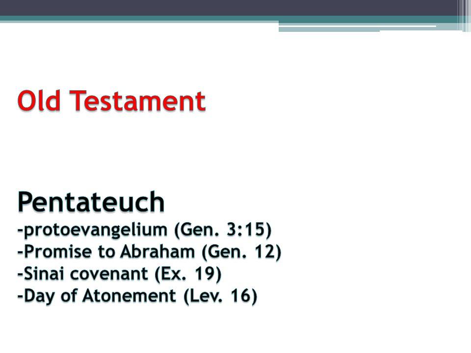 Old Testament Pentateuch -protoevangelium (Gen