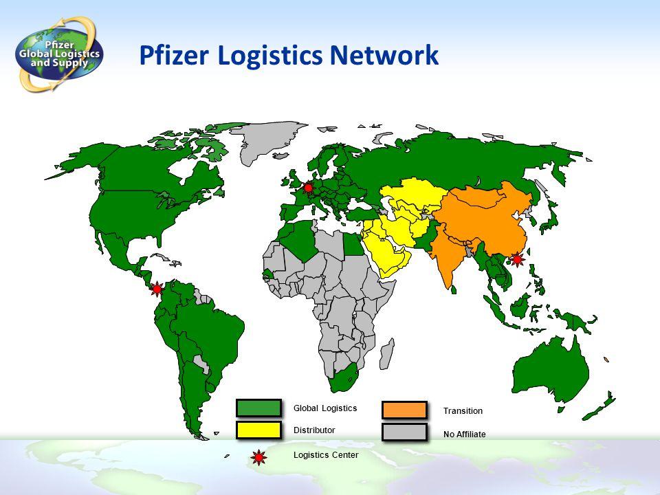 Pfizer Logistics Network