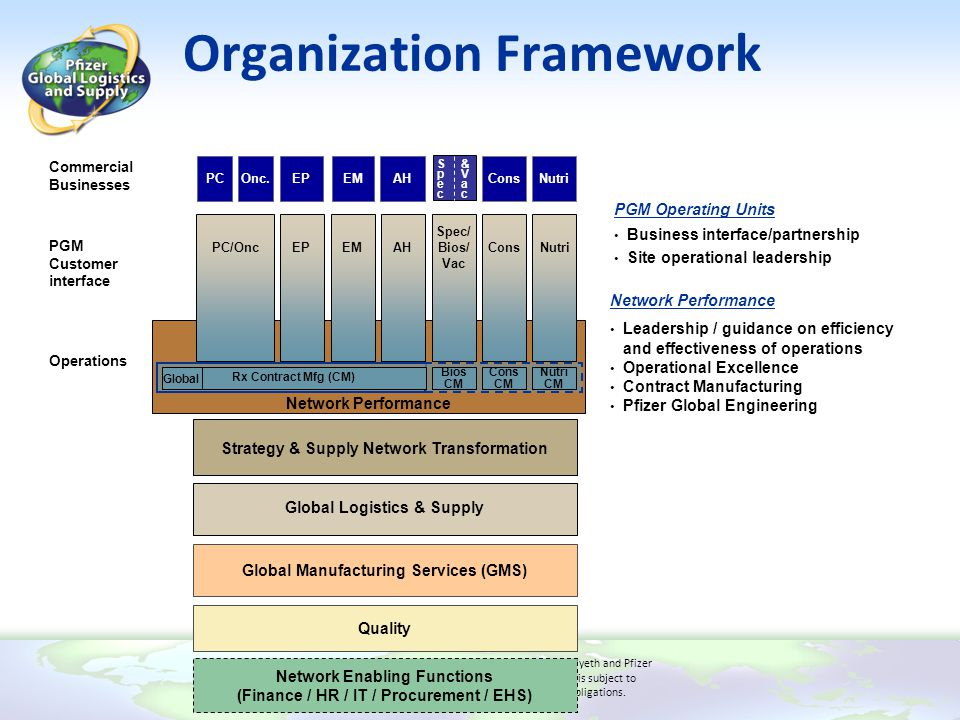 Organization Framework