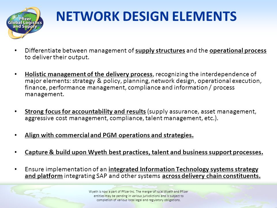 NETWORK DESIGN ELEMENTS