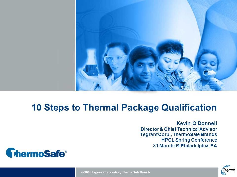 10 Steps to Thermal Package Qualification