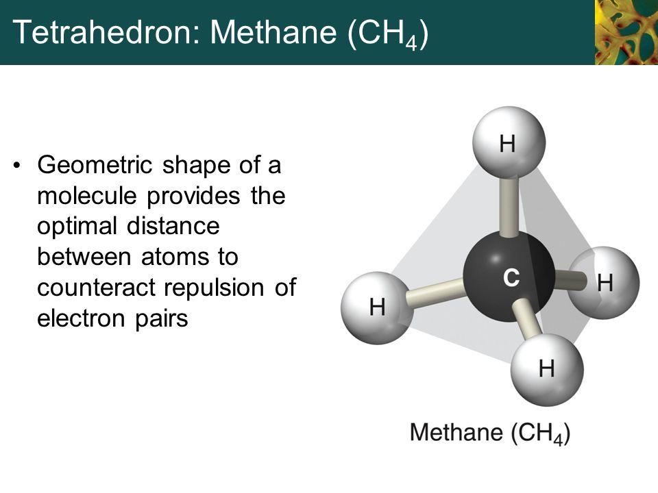 Tetrahedron: Methane (CH4)
