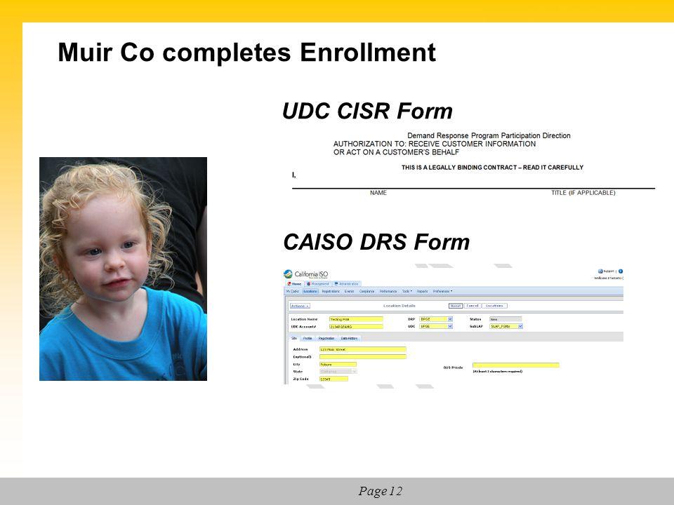 Muir Co completes Enrollment