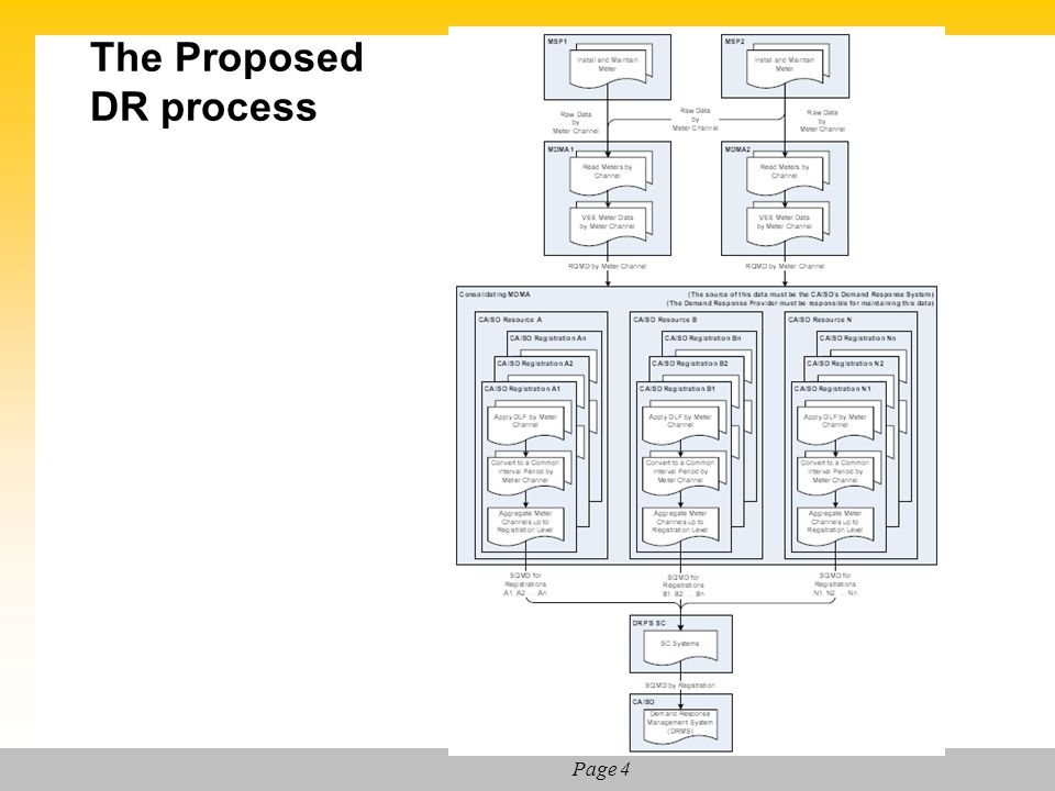 The Proposed DR process