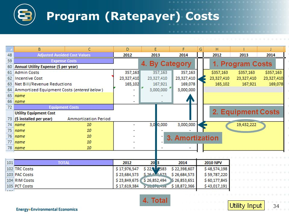 Program (Ratepayer) Costs