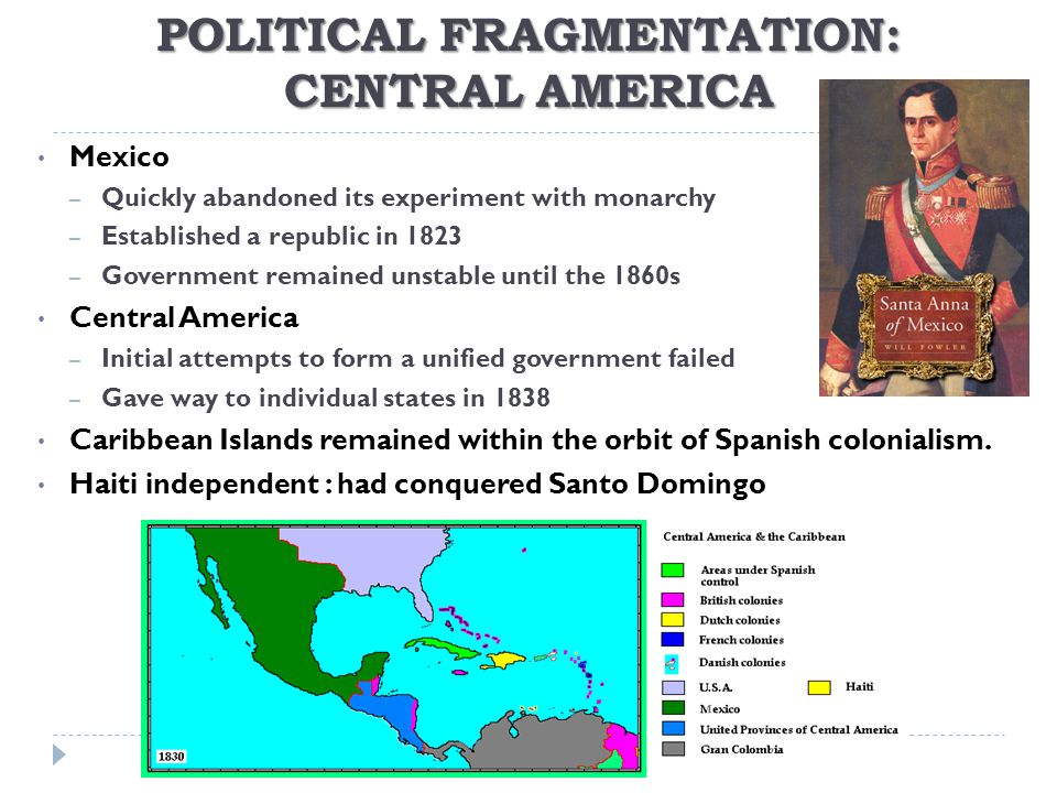 POLITICAL FRAGMENTATION: CENTRAL AMERICA