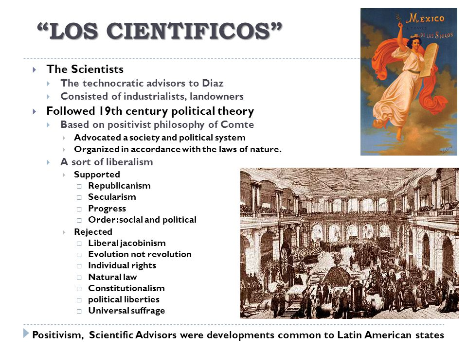 Los Cientificos The Scientists
