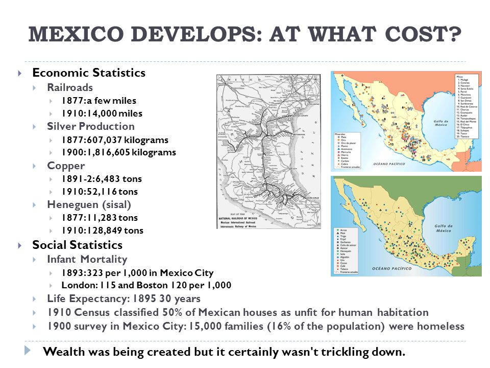 Mexico Develops: At What Cost