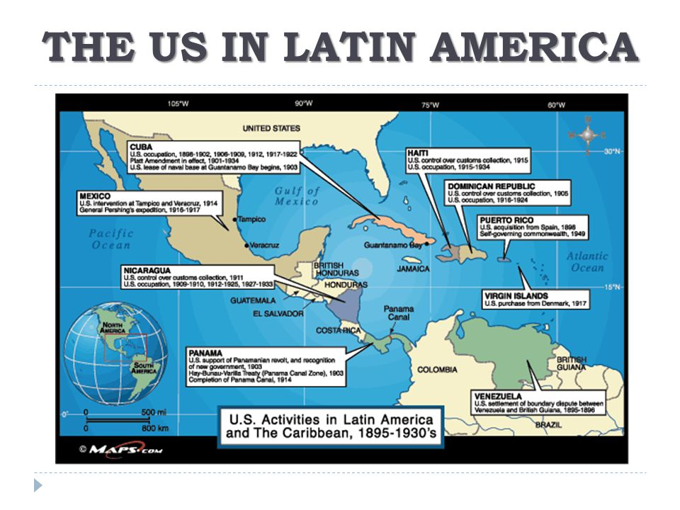 THE US IN LATIN AMERICA