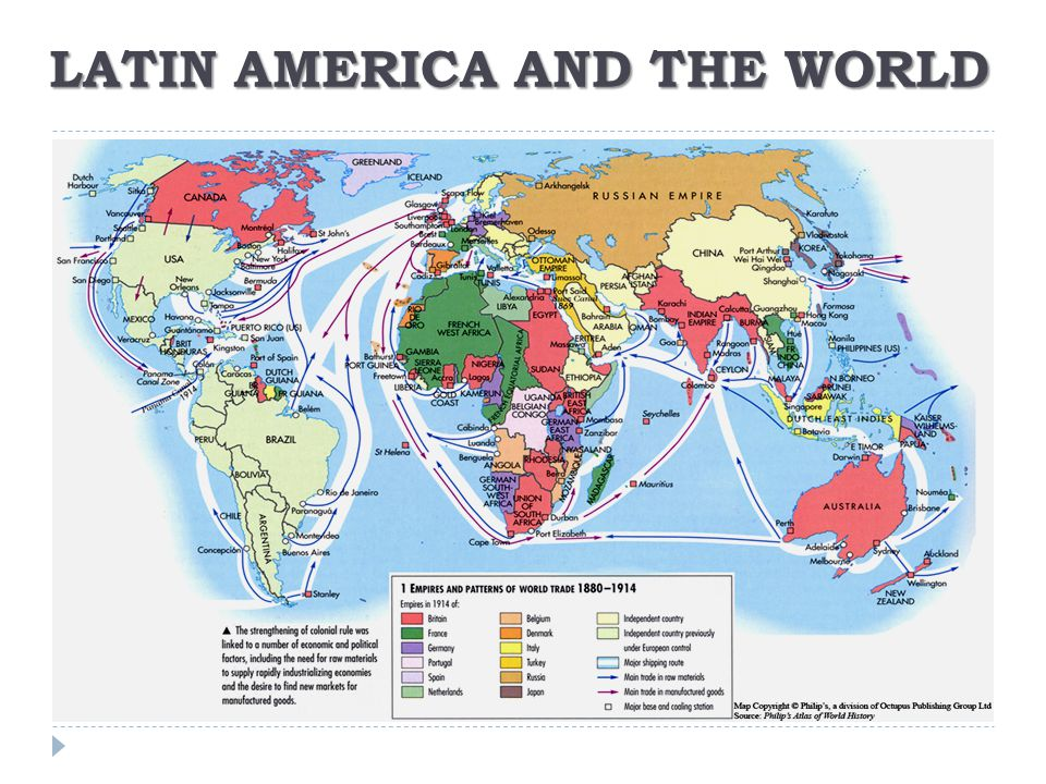 LATIN AMERICA AND THE WORLD