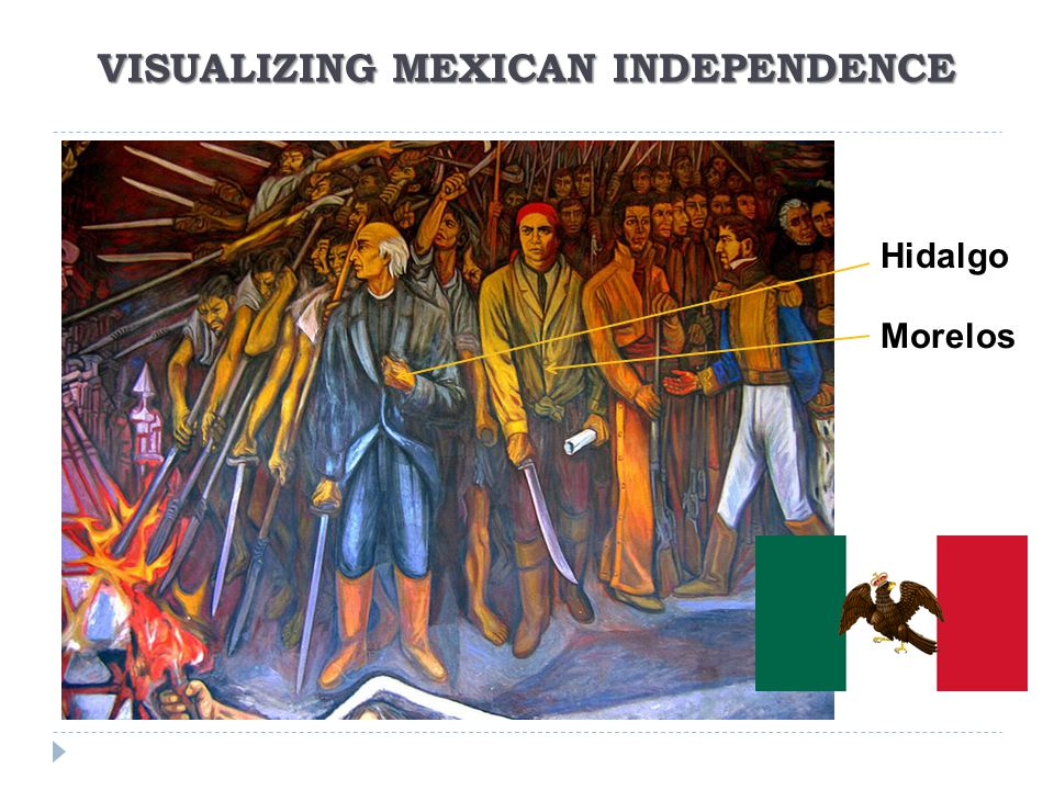 VISUALIZING MEXICAN INDEPENDENCE